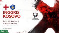Kualifikasi Piala Eropa 2020 - Inggris Vs Kosovo (Bola.com/Adreanus Titus)
