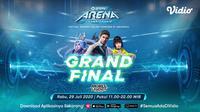 GoPay Arena Championship Grand Final Mobile Legends. (Sumber: Vidio)