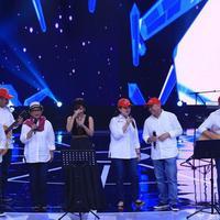 Semangat agar Lombok Bangkit dari Para Menteri lewat Elek Yo Band.