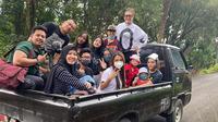 Keluarga Anang Hermansyah liburan rayakan Aurel trending di YouTube. (Sumber: Instagram/@ashanty_ash)