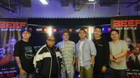 Saykoji, Iwa K, dan Laze menjadi juri di ajang Beef Rap Battle