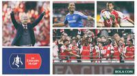 Kolase - Arsenal Vs Chelsea Piala FA (Bola.com/Adreanus Titus)