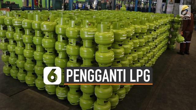 Gas dimethyl ether (DME) akan menggantikan LPG 3 Kg. Pemerintah akan menghentikan subsidi gas LPG 3 Kg.