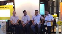 Indosat meluncurkan toko aplikasi Android bernama i-Aplikazone (Denny Mahardy/ Liputan6.com)