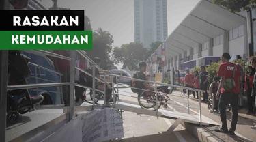 Salah satu atlet asal Malaysia merasakan kemudahan dalam hal transportasi di Asian Games 2018.