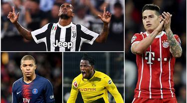 Berikut ini 8 pemain berstatus pinjaman yang mampu tampil apik di klub baru. Tiga diantaranya adalah, Kylian Mbappe, James Rodriguez dan Michy Batshuayi. (Foto-foto Kolase AFP)