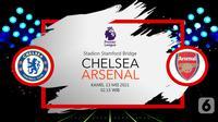 Chelsea vs Arsenal (liputan6.com/Abdillah)