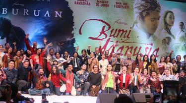 Gala Premiere Film Bumi Manusia dan Perburuan di Surabaya