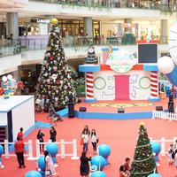 Natal bersama Doraemon. (Foto: Dok. PIK Avenue)