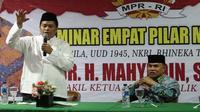 Ketua MPR Mahyudin menegaskan agar pihak asing tidak ikut campur urusan dalam negeri Indonesia. Ikut campurnya negara asing dalam urusan dalam negeri menjadi salah satu faktor separatisme.