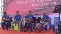 Kolam Susu bikin wow Festival Wonderful Indonesia di Wini. (foto: dok. Kemenpar)