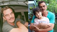 Jarang Tersorot, Ini 6 Potret Bapak Andhika Pratama yang Awet Muda