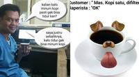 6 Meme Minum Kopi Ini Kocak, Bikin Geleng Kepala (sumber: Instagram.com/receh.id)