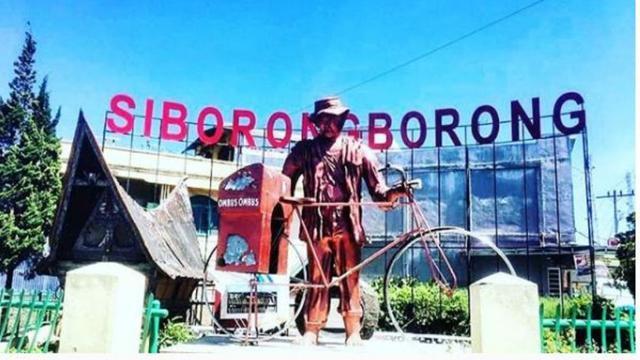 Sejuta Pesona Siborong-borong, Daerah yang Disebut dalam Nyanyian Sayur Ko