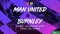 Premier League - Manchester United vs Burnley (Bola.com/Dody Iryawan)