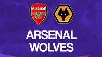 Liga Inggris: Arsenal vs Wolverhampton. (Bola.com/Dody Iryawan)