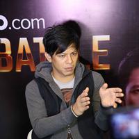 Dalam konferensi pers Grand Final Vidio.com Music Battle, Senayan City, Jakarta Pusat, Senin (22/2), Ariel mengatakan, bahwa menjadi pemenang dalam ajang pencarian bakat, bukanlah tujuan akhir. (Foto: Nurwahyunan/Bintang.com)