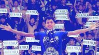 Ricko Andrean, bobotoh korban permusuhan panas suporter Persib dengan Persija. (Bola.com/Instagram Persib)