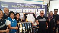 Jakarta Marathon. (Liputan6.com/Cakrayuri Nuralam)
