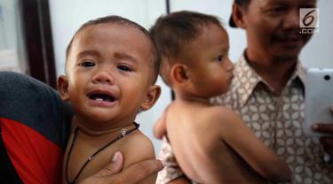 Melihat Kondisi Anak-Anak Kurang gizi di Pandeglang