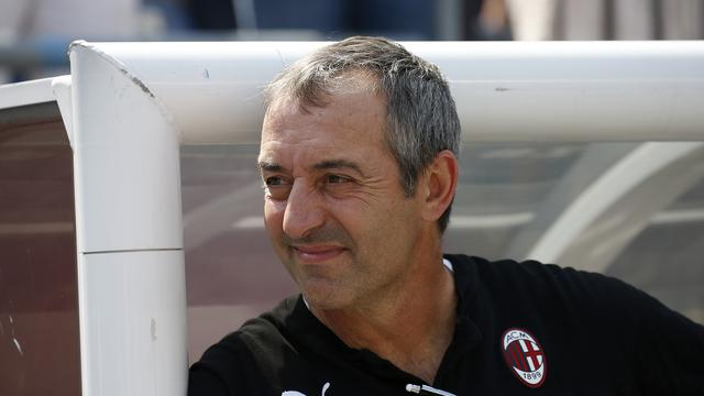 Pelatih AC Milan, Marco Giampaolo.