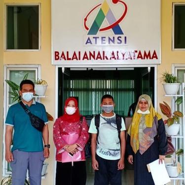 PK Bapas Titipkan ABH Asal Bengkulu ke BRSAMPK Alyatama Jambi
