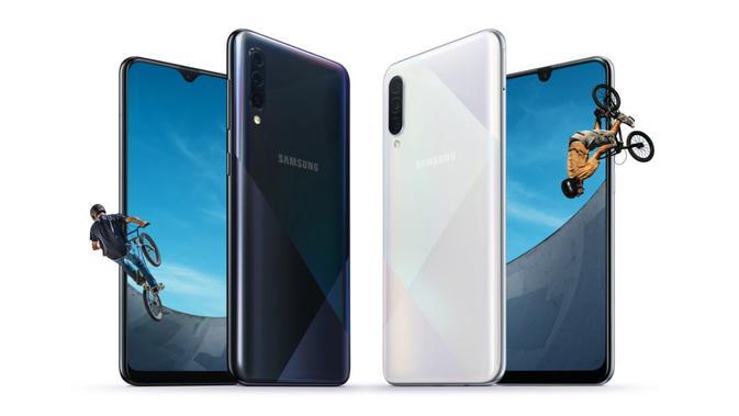 Samsung baru saja memperkenalkan Galaxy A30s dan Galaxy A50s (sumber: Samsung)