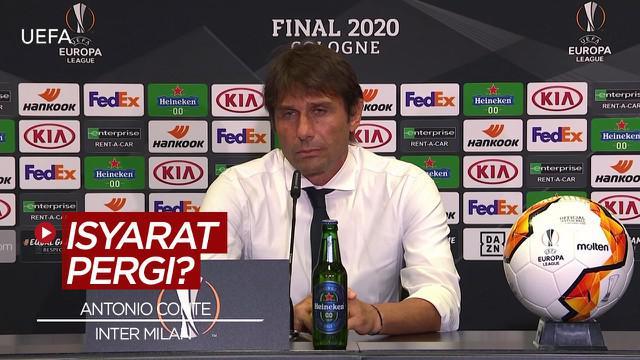 Berita Video Usai Kalah Dari Sevilla di Liga Europa, Antonio Conte Beri Isyarat Akan Tinggalkan Inter Milan