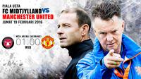 FC MIDTJYLLAND vs Manchester United (Liputan6.com/Abdillah)
