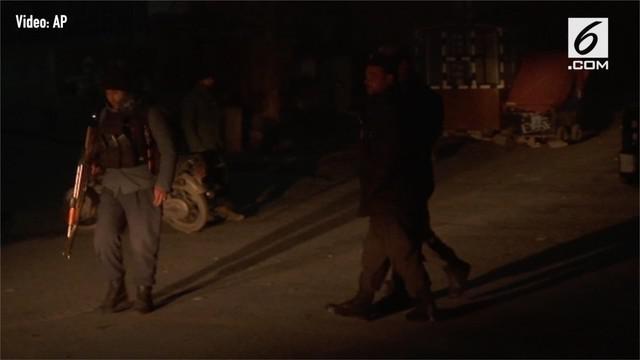 Sekelompok pria bersenjata menyerang Hotel Intercontinental di Kabul, Afghanistan.