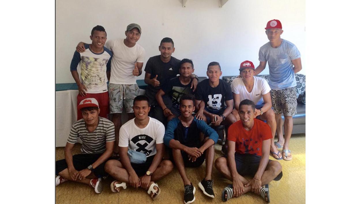 Pemain dari TULEHU yang berlaga di babak 8 besar Piala Jenderal Sudirman (Foto/Instagram)