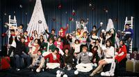 Artis SM Entertainment itu menunjukkan gaya koyol saat meraih penghargaan sehingga membuat penggemarnya terhenyak.