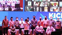 Wakil Ketua DPR Abdul Muhaimin Iskandar saat Kick Off Gerakan Bangkit Belajar di Gerung Perpustakaan Nasional (Perpusnas), Jalan Merdeka Selatan, Jakarta, Rabu (12/8/2020). (Istimewa)