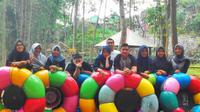 Kampung wisata yang di buat dan dikelola oleh karang taruna setempat ini menjadi salah satu tujuan wisata di kota Malang (Sumber foto: Instagram @wisatakampungbesuki)