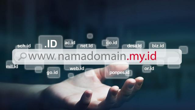 Ilustrasi domain my.id