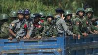 Militer Myanmar ditugaskan di negara bagian Rakhine untuk menumpas pemberontak Tentara Arakan (AFP)