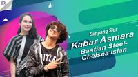 Drama timbul-tenggelamnya isu kedekatan Bastian Steel dan Chelsea Islan. (Foto: Nurwahyunan/Bintang.com Desain: Nurman Abdul Hakim/Bintang.com)
