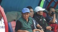 Pelatih PSS Sleman, Herry Kiswanto. (Bola.com/Ronald Seger)