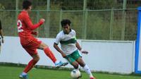 Pelatih Timnas Indonesia U-19, Shin Tae-yong, menilai buruknya kondisi lapangan memengaruhi permainan timnya saat diimbangi Makedonia Utara. (dok.PSSI)