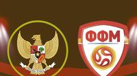 Indonesia U-19 vs Makedonia Utara U-19. (Bola.com/Dody Iryawan)