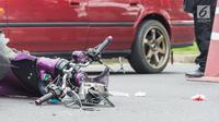 Ilustrasi Foto Kecelakaan Motor (iStockphoto)