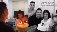 Momen ulang tahun Vanessa Angel (Sumber: Instagram/vanessaangelofficial)