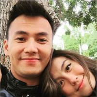 Wijaya Saputra dan Agnes Monica (via Instagram/saputrawijaya)