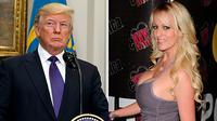 Stormy Daniel - Donald Trump. (News & Reports)