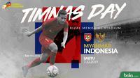 Sea games 2019 - Sepak Bola - Myanmar Vs Indonesia 2 (Bola.com/Adreanus Titus)