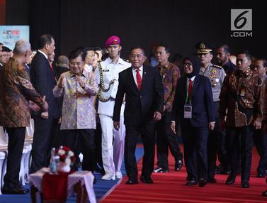 Wapres Jusuf Kalla Buka Pameran Alutsista Indo Defence 2018
