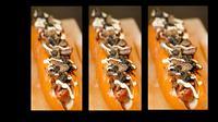Hot dog yang pecahkan rekor dunia. (News.co.au)