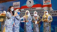 Ikatan Wanita Pengusaha Indonesia atau IWAPI lakukan Musyawarah Nasional (Munas) ke-IX.