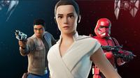 Tiga skin anyar bertema Star Wars yang hadir di Fortnite (sumber: Epic Games)