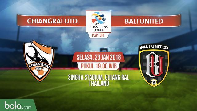 Chiangrai United Vs Bali United
